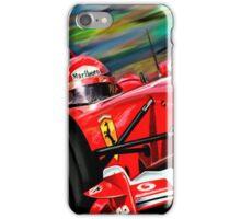 Michael Schumacher Ferrari iPhone Case/Skin