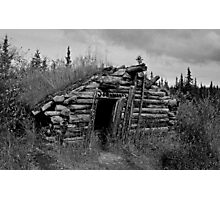 Gold Rush Cabin (Yukon) Photographic Print