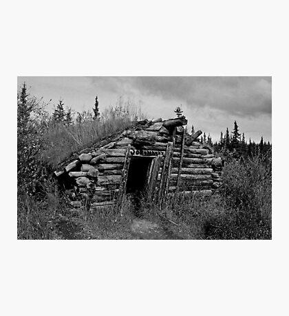 Gold Rush Cabin (Yukon) Photographic Print