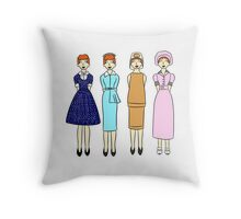 Lucy's Classic Looks Throw Pillow