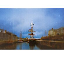 Little Tall Ship Photographic Print