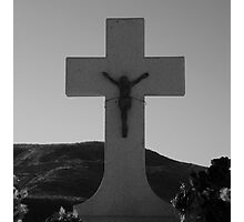 Wired To The Cross Photographic Print