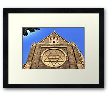 Our Lady of Victory church Framed Print