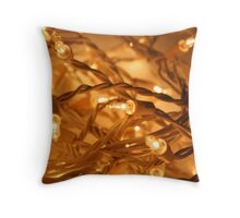 Twinkle Lights Throw Pillow
