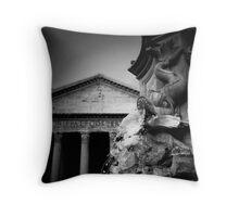 rome statue Throw Pillow