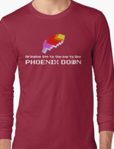 Bringing Life to the Party Like Phoenix Down Long Sleeve T-Shirt