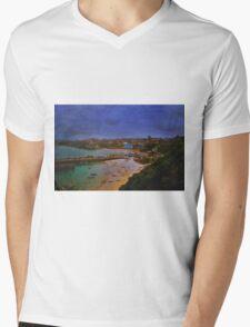 Little Harbour Mens V-Neck T-Shirt