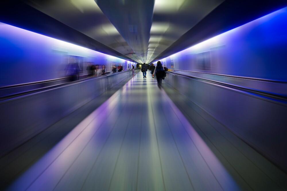 Departure- German Airport by vividpeach