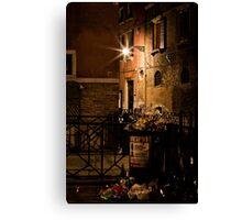 Gathering Place- Venice Trash Canvas Print
