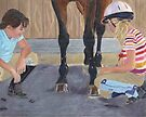 New Shoe Review - Children and Horses by Patricia Barmatz