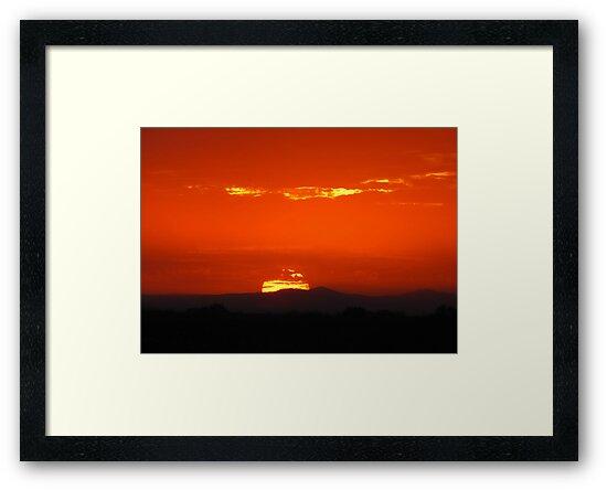 Monsoon Sunset by Kimberly Chadwick
