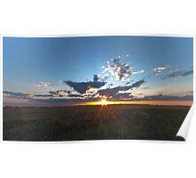 Moosecreek sun down - HDR Poster