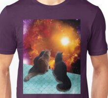 space cats Unisex T-Shirt