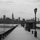 118-14th St. Pier, Hoboken, NJ by Tedd Wenrick