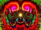 Three Layer Abstract: Eye Exam (110819) by barrowda