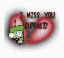 I Miss You Cupcake One Piece - Short Sleeve