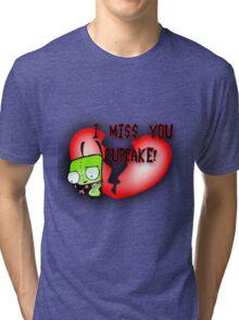 I Miss You Cupcake Tri-blend T-Shirt