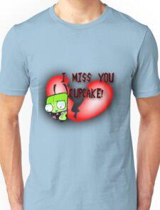 I Miss You Cupcake Unisex T-Shirt