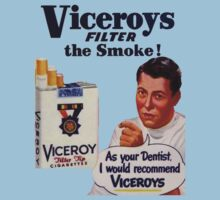 Vintage Cigarette Ad by Alex Roll