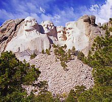 Mt. Rushmore by StonePics