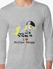 Roller Derpy : I Heart Roller Derpy Long Sleeve T-Shirt