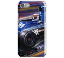 Jackie Stewart Tyrell  iPhone Case/Skin