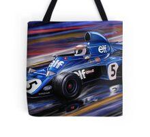 Jackie Stewart Tyrell  Tote Bag