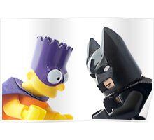 Batman v Bartman: Copyright Infringement Poster