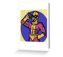 Batroc the Leaper Greeting Card