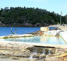 Fairy Bower Pool, Manly by Maggie Hegarty