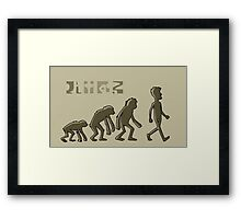 Rick and Morty-- humans Framed Print