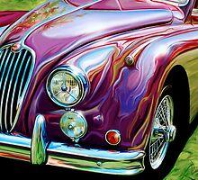 Jaguar 140 Sportscar by davidkyte