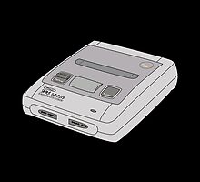 Snes Super Nintendo by Obercostyle
