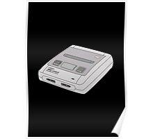 Snes Super Nintendo Poster