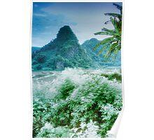 Nam Sim Mountains Poster