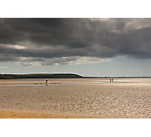 The dichotomy of Irish weather, Duncannon, County Wexford, Ireland Photographic Print