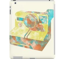 Polaroid ink iPad Case/Skin