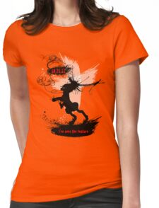 I've Seen The Feature. Womens Fitted T-Shirt