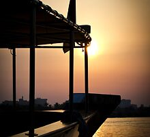 Arabian Sunset by Chris Cardwell