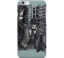 Winston Churchill's Victory Sign  iPhone Case/Skin