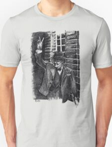 Winston Churchill's Victory Sign  Unisex T-Shirt