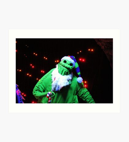 Nightmare Before Christmas - Oogie Boogie Art Print