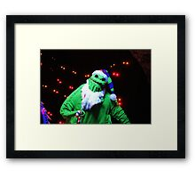 Nightmare Before Christmas - Oogie Boogie Framed Print