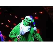 Nightmare Before Christmas - Oogie Boogie Photographic Print