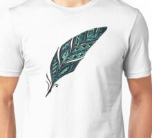 Arty feather Unisex T-Shirt