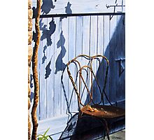 Chair in the Sun Photographic Print