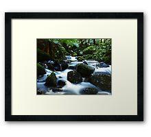 Cement Creek2 Framed Print