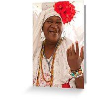 Fortune Teller, Havana Greeting Card
