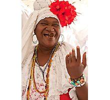 Fortune Teller, Havana Photographic Print