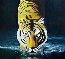 great bengal tiger by Aditya Singh